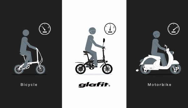 glafitバイク 3way