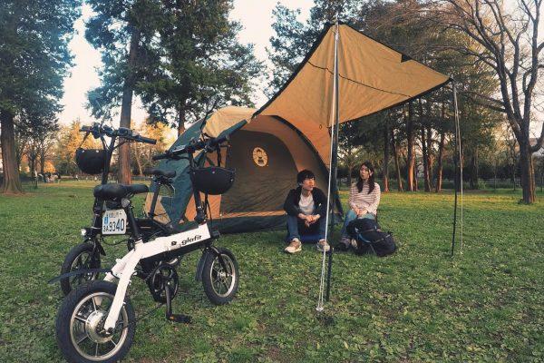 glafitバイク キャンプ