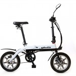 glafitバイク ホワイトツートン
