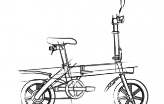 glafitbikeイラスト